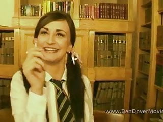 Free gay uniforms - British teen in pigtails and uniform