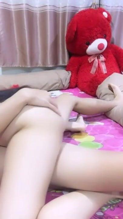 White thai girl beautiful pussy