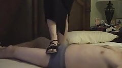 ledaemon's foot fetish-flat sandals Trample Job 2