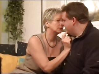 Talked gf into fucking stranger German granny fucks young stranger boy