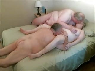 Granny and gramps sex - Two gramps and one gran