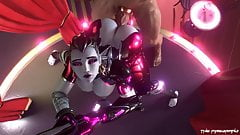 Widowmaker Takes A Giant Cock From Behind