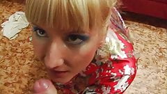 Blonde Babe Shaved Pussy Hardcore Fucking