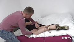 Libertine francaise se fait ramoner le cul par un inconnu