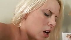 First Time Anal for this Blonde