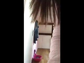 Ass in slut Dutch slut shows her ass in a teaser