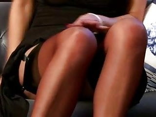 Strip-tease free porn Sexy stocking strip tease joi... it4