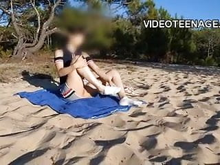 Nude wemon at beach Nude teen girl at beach