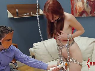 Violet blue the pornstar Slave violet monroe dancing in chains