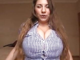Burst boobs image Button bursting boobs