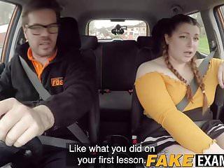 Adult education instructors - English bbw rides her driving instructors big fat cock