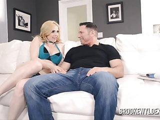 Sucking massine natural boobs Two big boob blondes suck older guy