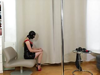 Sex slave bound and fucked - Bupshi - latex slave slut bound and fucked