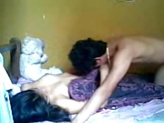 Best romantic teen movies - Indonesian romantic teen couple make love in bedroom