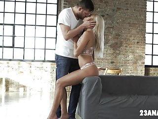 Naked gray Angelika grays takes a big dick anally