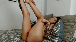 She is so horny and she choices you to have her pussy fucked