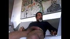 Huge Big cock masturbing