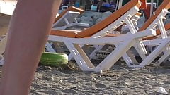 Seethrough Wet Panties at the Beach