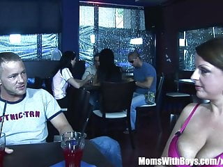 Teenboys and moms having sex Busty mom madison peet having sex in a public restaurant