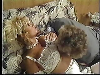 Insane milf An insanely hot blonde with fat tits gets banged from the back
