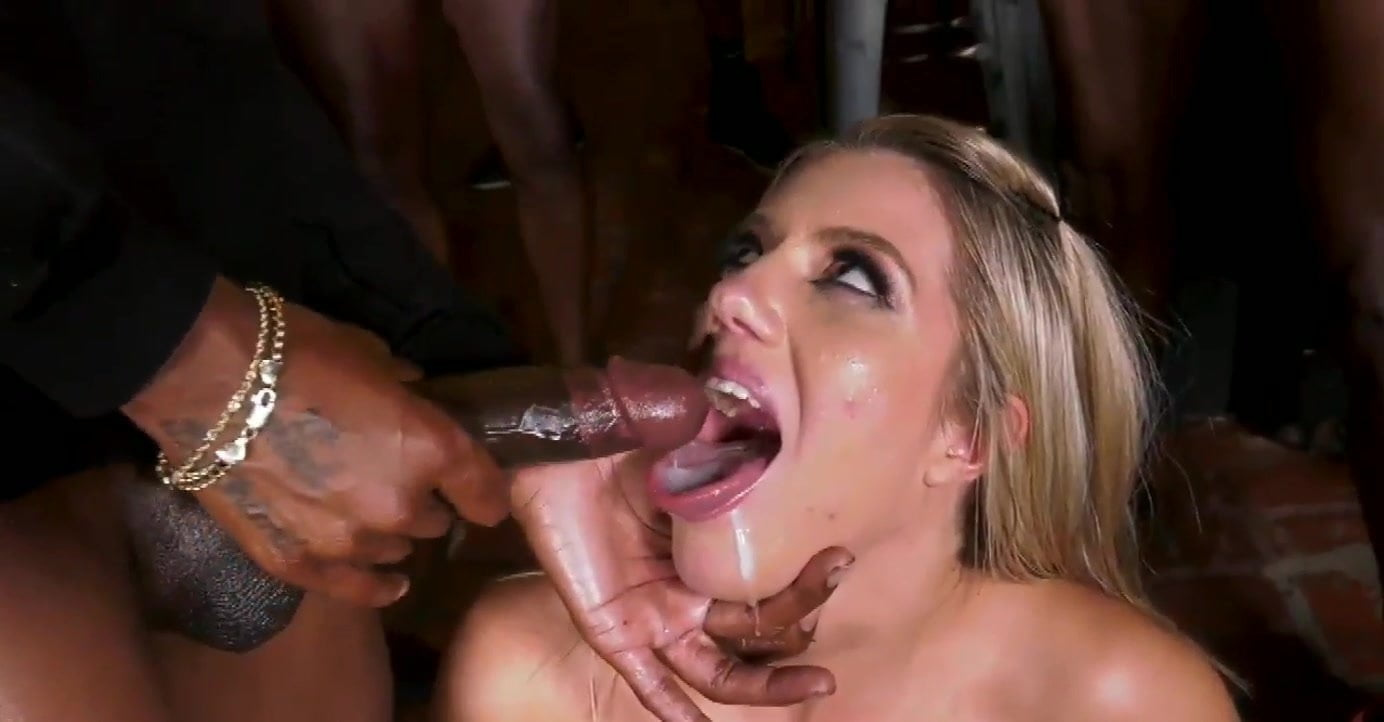 White Girl Sloppy Bbc Blowjob