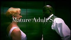 White Women meets Black Lover at a Hotel for Creampie. Gilf