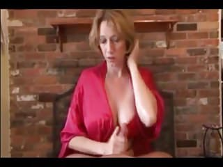 Russian mom gives handjob - Hot mom gives bj and hj and gets all the cum