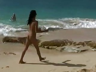 Gianecchini naked Naked teens fool around on public beach just-drew