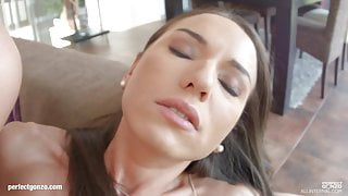 Messy creampie scene with superhot Lindsey & Nataly from All