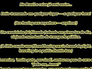 Teen brazil vids In brazil the thing is thus...