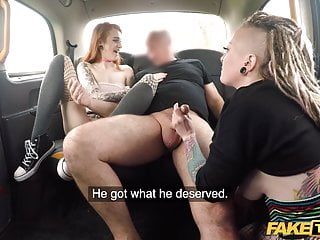 Faked naked celebraties - Fake taxi filthy ass fucking anal sex threesome