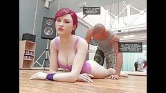 Night in the studio - False whore