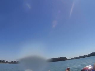 Spank mom tube Inner tube bj on the lake