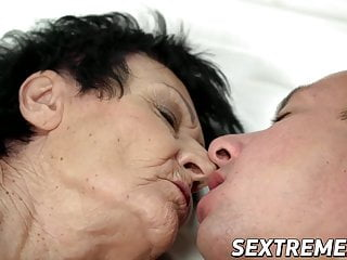 Short girl big cock Short hair anastasia stuffs old pussy with big cock