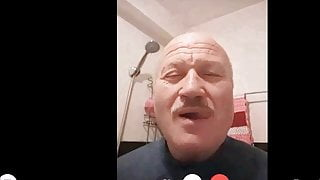 torkish daddy horny as watch my cock