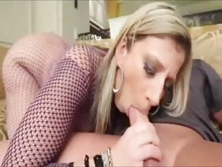 Big tit suit Sexy blonde in fishnet suit fucking