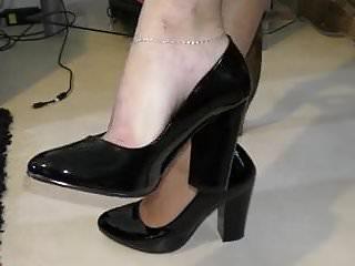 High hills shoes fetish - Feet soles shoes fetish 2