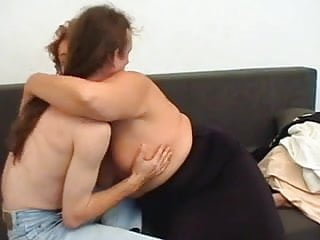 Mature moms vs boys - Old mom vs cock