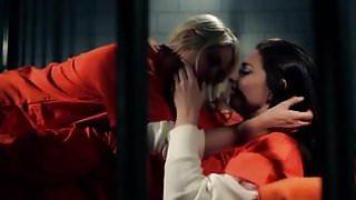bratty lesbian seduces new prison inmate kind then cruel