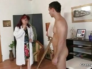 Young grannie likes 2 monster cocks She likes painting and hard cocks
