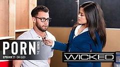 Religious Student Seduced By Pornstar At Anti Porn PSA