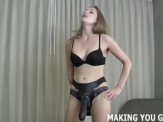 3 inch fat cocks - Take every inch of this big fat strapon you little bitch