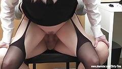 Tina, the horny secretary