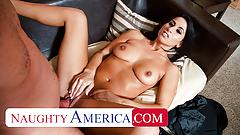 Naughty America - Sophia Bella takes a big cock to pay bills