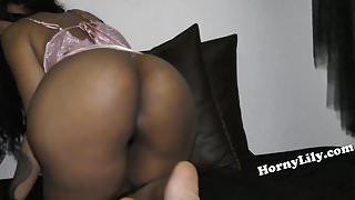 Horny South Indian girl with big ass masturbating