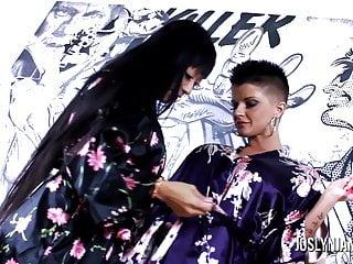 Joslyn james anal - Joslyn james fucks her sexy asian girlfriend gaia