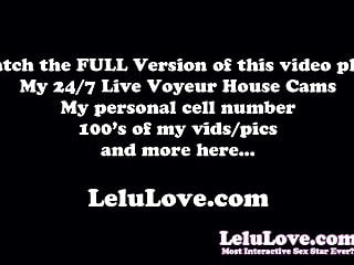 Can you cum without knowing it Lelu love-how many times can you cum masturbation joi