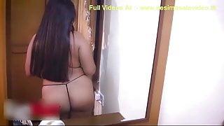 Indian desi big ass bhabhi in thong nude milf