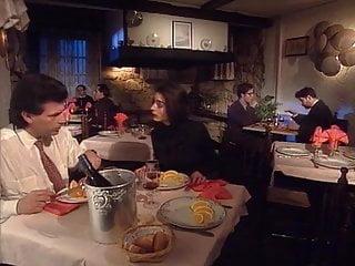 Vintage restaurant ads Classic brunette fucked in restaurant restroom