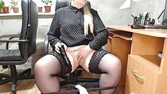 Secretary and his lustful prank at work